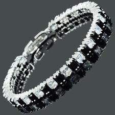 Onyx Modeschmuck-Armbänder aus Messing