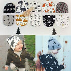1PC Fashion Girl Boy Hat Toddler Beanie Kids Winter Warm Crochet Knit Baby Cap