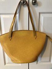 Louis Vuitton Vintage Yellow Handbag