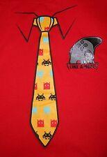 "Dynasty ""Like A Boss"" Galaga Tie T-Shirt - Boys Size Large - Brand NEW w/Tag"
