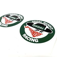 Skoal Bandit Racing Stickers X2 F1 Indycar NASCAR Motorsport Decal Sticker
