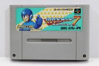Rockman 7 Mega Man SFC Nintendo Super Famicom SNES Japan Import I6959