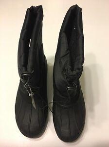 Men Boots Size 11 Winter Black