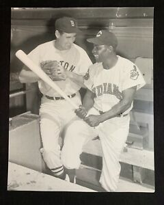 Vintage Ted Williams Boston Red Sox Photograph 11x14 MLB