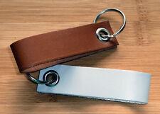 Leder-Schlüsselband MINI mit Lasergravur, Gravur nach Wunsch
