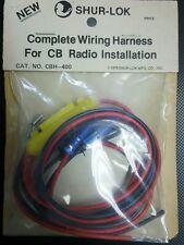 Shur-lok CBH-400 complete wiring harness for CB Radio installation