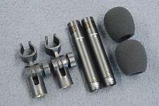 2 Audix F9 Cardioid Condenser Microphones Pair Acoustic Guitar/Drum Overhead