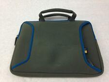 "Case Logic 7-10"" Netbook, Laptop Sleeve, Carry Bag, Grey / Blue"