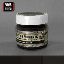 VMS SPOT-ON Pigment No. 09b Track Brown Extra Dark 45 ml model weathering powder