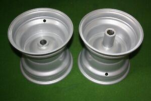 2 Felgen für Rasentraktor mit 25,4 mm (1 Zoll) Achse (für 18x9.50-8, 20x10.00-8)