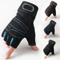 Gym Training Gloves Unisex Bodybuilding Wrist Wrap Weight Lifting Gloves SALE