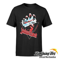Judas Priest British Steel oficial Camiseta Banda De Mano