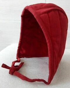 Medieval Cotton Inner Cap Helmet Padded Reenactment Armor Hood LARP