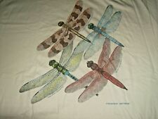 Dragon Flies T-shirt Size XL Short Sleeve Cotton  New/ No Tags Ships Free