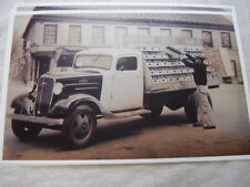 1936 CHEVROLET  TRUCK  COKE COLA  11 X 17  PHOTO  PICTURE