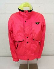 Vintage 1980s Mountain Goat Neon Pink & Yellow Ski Jacket Men's XL Fast Shipping