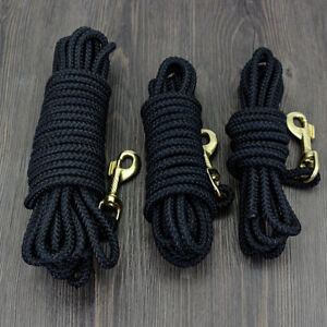 Dog Leash Long Line Obedience Recall Training Tracking Lead Nylon 10/16/33/66ft