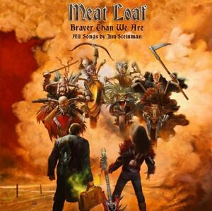 Meatloaf - Braver Than We Are (NEW CD & DVD)