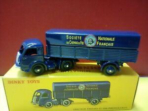 Modellino DIE CAST Camion Tracteur Panhard et Semi Remorque 32AB  ATLAS 1/43