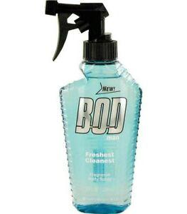 BodMan Freshest Cleanest by Parfums De Coeur Fragrance Body Spray 8oz CL