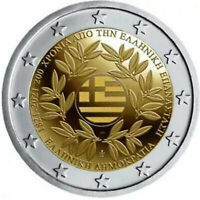 GREECE 2021. 2 EURO COIN - 200 YEARS OF THE GREEK REVOLUTION. UNC!!! BRAND NEW!!