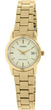 Casio Women's Analog Quartz Gold Tone Stainless Steel Watch LTPV002G-9A