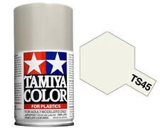 Tamiya TS-45 PEARL WHITE  Spray Paint Can  3.35 oz. (100ml) 85045