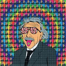 ALBERT Einstein  TAB BLOTTER ART perforated sheet paper psychedelic art