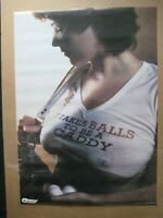 IT TAKE BALLS TO BE A CADDY VINTAGE POSTER GARAGE MAN CAVE 1979 HOT GIRL CNG2144