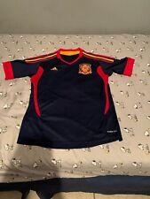 Spain RFCF Adidas Climacool Blue Soccer Jersey Women's Size Medium