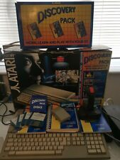 Atari 520ST System With Discovery Pack, Box, Mouse, Manuals, Joystick & More!