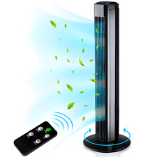 AERSON® Turmventilator 80 cm mit Fernbedienung Ventilator Standventilator leise