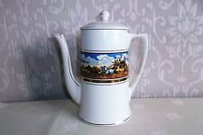 Crown Ducal DICKENS DAYS Coffee Pot.