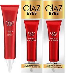 Olaz (Olay) Firming Eye Serum (2 x 15ml) For Wrinkles And Sagging Skin