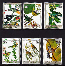 COOK IS.1985 AUDUBAN SET SG 1015-1020 MNH.