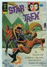 STAR TREK #27 F/VF, GOLD KEY COMICS / DELL, KIRK, SPOCK