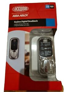 Lockwood 001T-1K1CPDP Keyless Digital Deadlatch