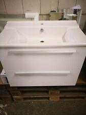 Designer Waschtisch + Unterschrank 80 cm, Serie Struktura, Artikelnr:XH112K-00