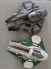 Star Wars Revenge Of The Sith Jedi Starfighter Hasbro X 2