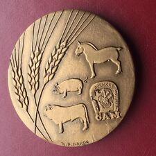 C A M , DES CÔTES DU NORD, Médaille Signée Baron