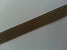 * Lace Market * Olive Green Elastic Trim Flat 12 mm Edging Please Choose Length