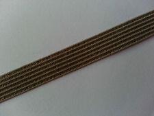 * Lace Market * Olive Green Elastic Trim Flat 8 mm Edging Please Choose Length