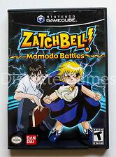 ZATCHBELL MAMODO BATTLES - GAMECUBE GC GAME CUBE - NTSC USA