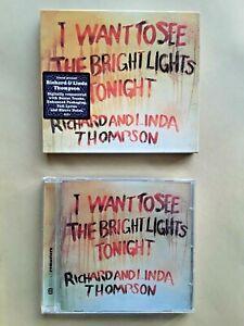 CD -- RICHARD THOMPSON -- I WANT TO SEE THE BRIGHT LIGHTS TONIGHT -- neuwertig!