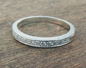 SIMON G Platinum Diamond Wedding Band **RETAIL $1430**