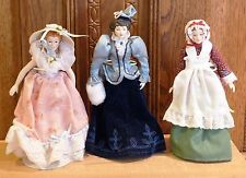 3 AVON DOLLS FROM AMERICAN TIMES COLLECTION