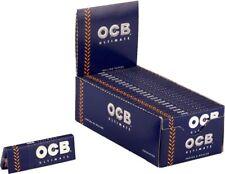 Ocb 2500 Cartine Ultimate Corte Box Da 50 Libretti