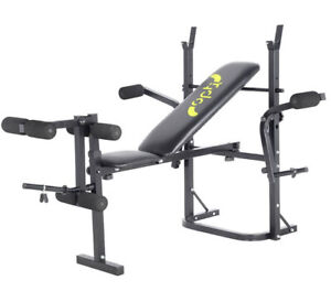 Butterfly Workout Bench with Leg Curl Chest Fly Attachments /Gym No Weights Bar