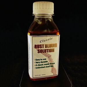 Classic rust bluing solution 100ml (3.5OZ)