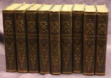 Schlegel/ Tieck Shakespeare 9 Bde 1853 Belletristik Klassiker Weltliteratur sf